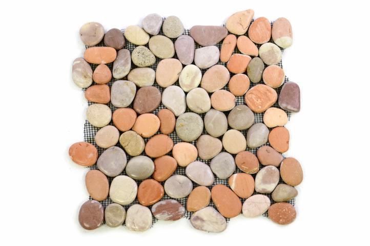 Mozaika Garthriečnč okruhliaky - obklad 1m2