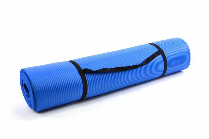 MOVIT podložka na jógu modrá 190 x 102 x 1,5 cm