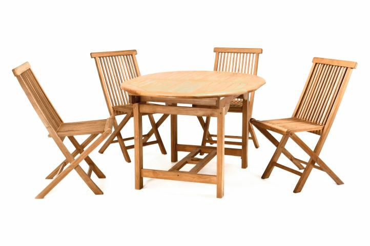 DIVERO záhradný nábytok z tíkového dreva