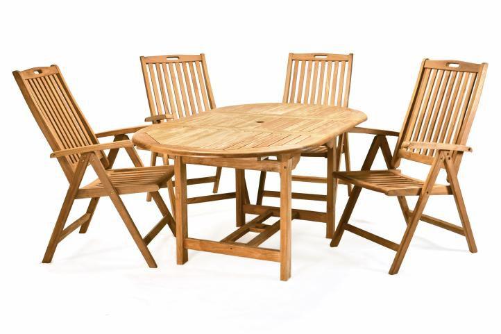 DIVERO záhradný nábytok z tíkoveho dreva
