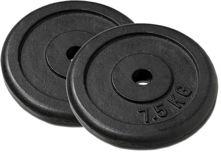 Sada 2 závaží na činky 7,5 kg