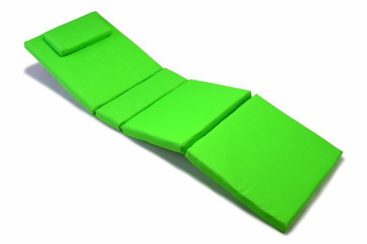 Polstrovanie Garth s vankúšom - svetlo zelené