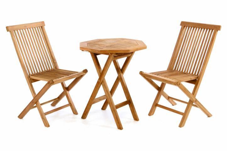 741adb828232 Luxusný balkónový set z teakového dreva