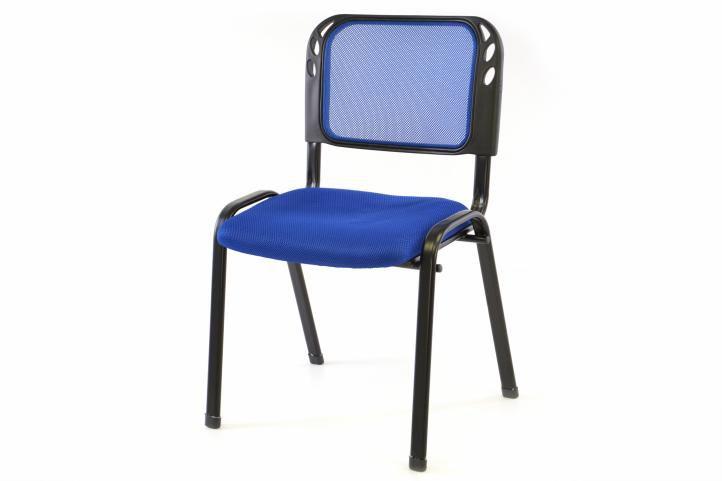 Stohovateľná kongresová stolička - modrá