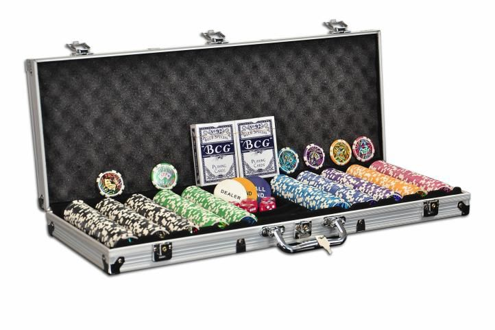 POKER SET 500 ks žetónov OCEAN CHAMPION 11g