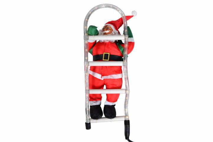 Santa Claus na žebříku