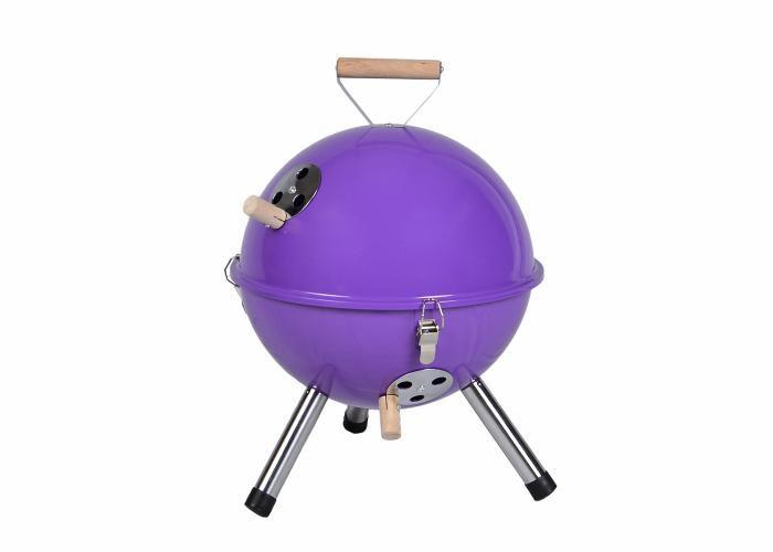 Garthen 691 Zahradný mini gril  - fialový