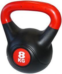 Činka Kettlebell s cementovou náplňou - 8 kg