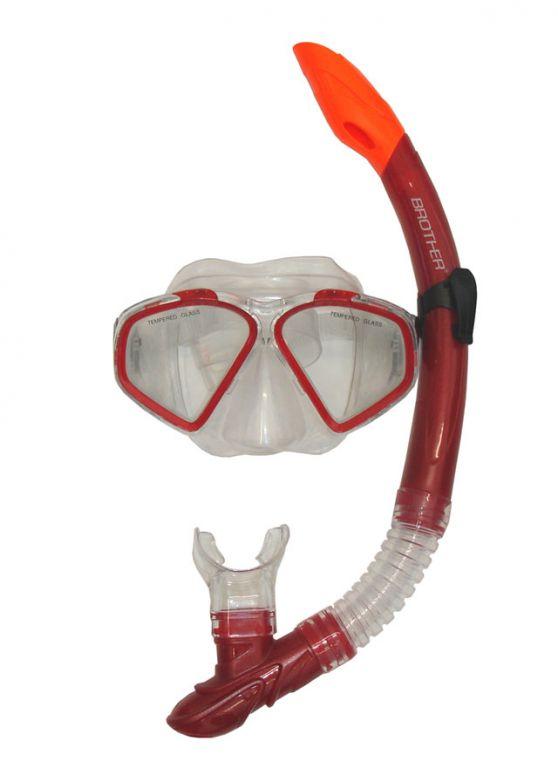 Sada potápěčská - červená