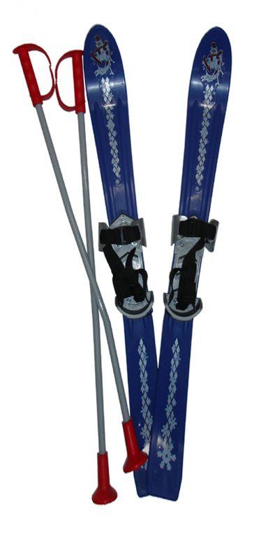 Plastkon Lyže dětské 90cm - modré