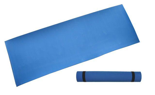 Gymnastická podložka 173 x 61 x 0,4 cm, modrá