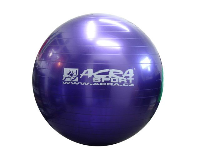 Gymnastická lopta 55 cm fialová