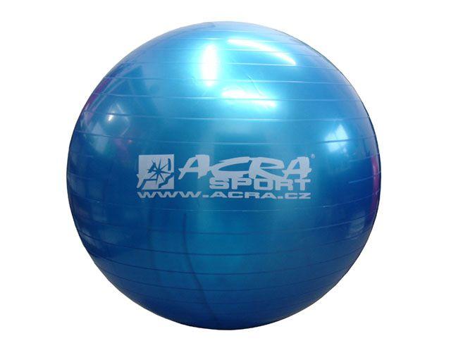Gymnastická lopta (gymball) 900 mm modrá
