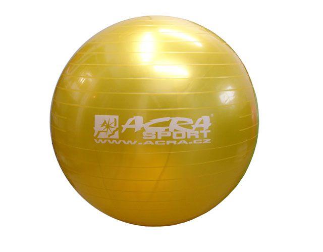 Gymnastická lopta (gymball) 900 mm žltá