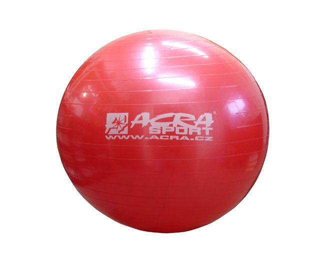 Gymnastická lopta 750 mm červená