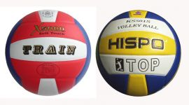 Lopta volejbalová lepená - na šesťkový volejbal