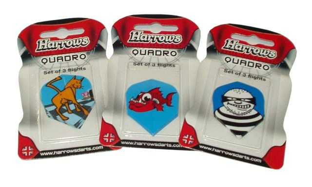 """Letky """"HARROWS"""" QUADRO"""