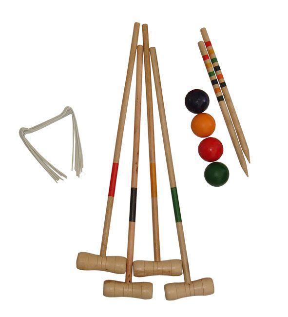 Kroket - sada pre 4 hráčov