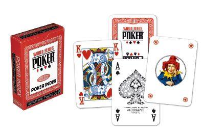 Poker karty WSOP regular index červené