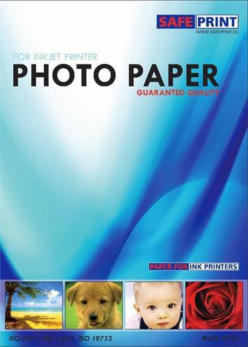 Papír Safeprint foto pro inkoustové tiskárny A6 lesklý, 260 g/m, 20ks