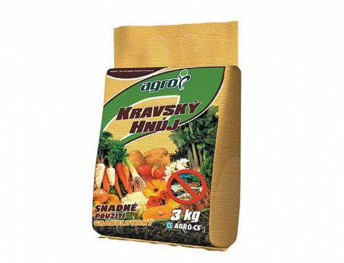 Hnojivo Agro  Pravý kravský hnoj 3 kg