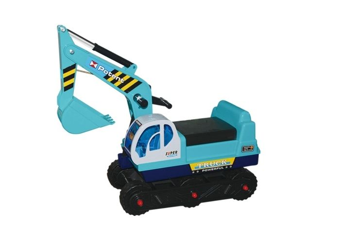 Hračka G21 detský bager pásový , modrý