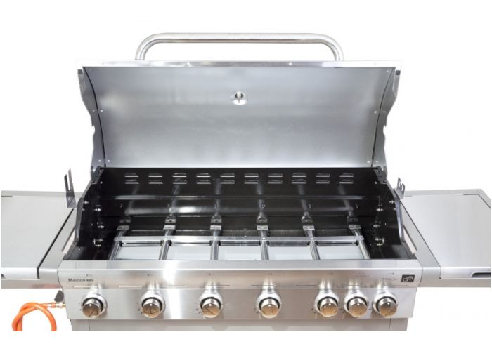 Plynový gril G21 Mexico BBQ Premium line, 7 horákov + zadarmo redukčný ventil