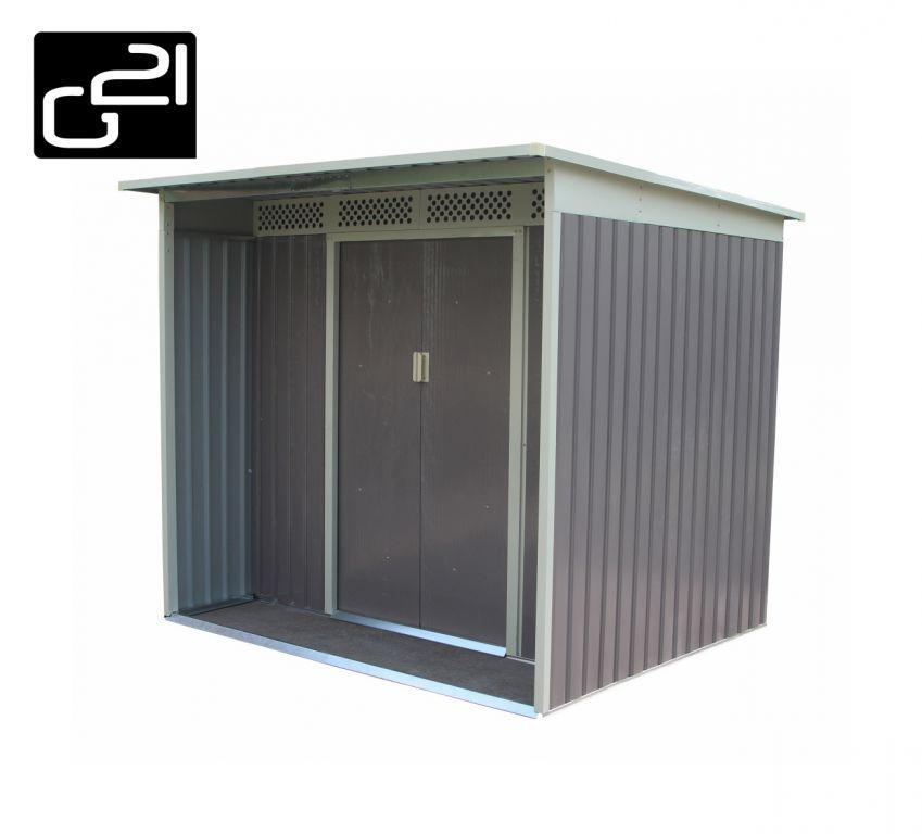Zahradný domček G21 GBAH 418 - 203 x 172 cm, šedý
