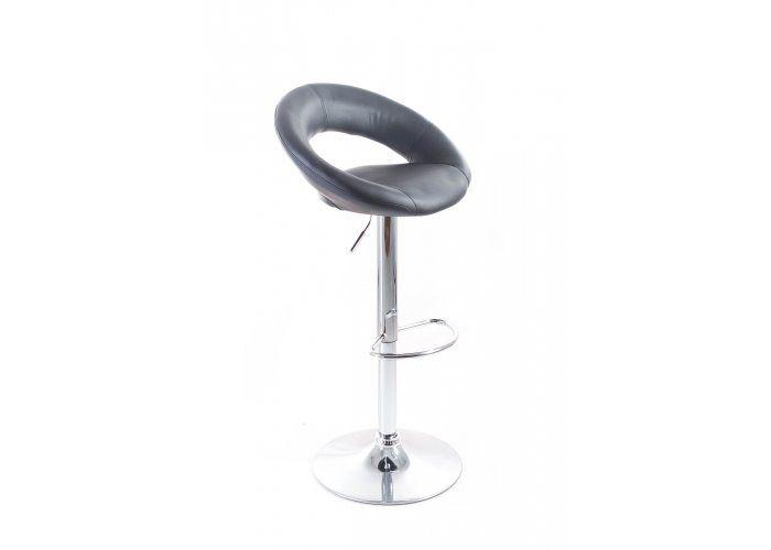 Barová židle G21 Orbita black, koženková