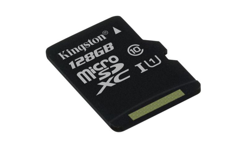 Paměťová karta Kingston microSDXC CL10 UHS-I 128GB, 80R