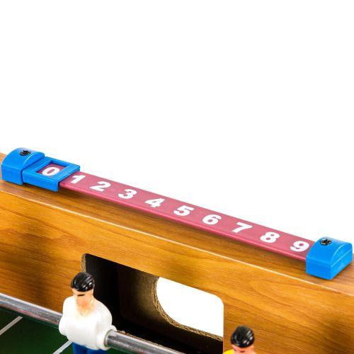Mini stolní fotbal fotbálek s nožičkami 70 x 37 x 25 cm - světlý