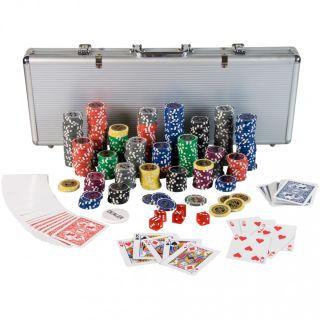 Poker Set - 500 laserových žetonů Ultimate