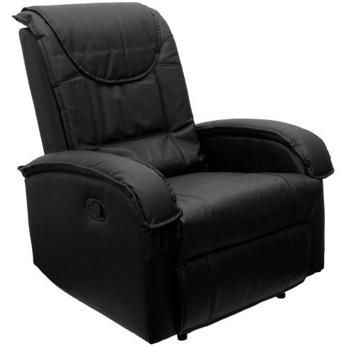 Čierne TV kreslo