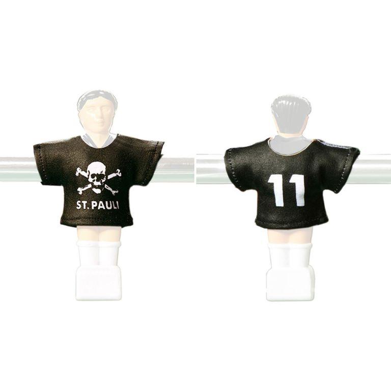 Náhradné futbalové dresy St Pauli 11 ks