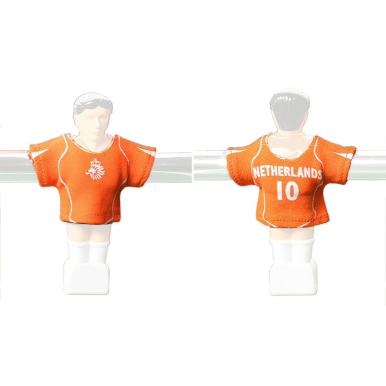 Náhradné futbalové dresy Holandska 11 ks