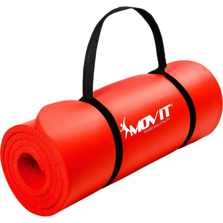 Podložka na jógu 190 x 60 x 1,5 cm, červená