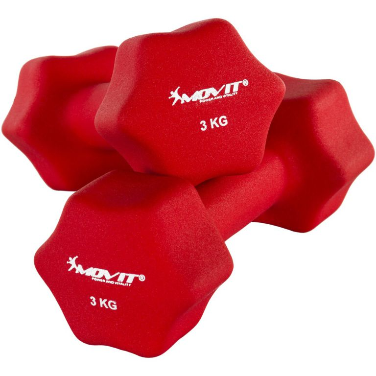 Set 2 činek s neoprenovým potahem 3 kg MOVIT