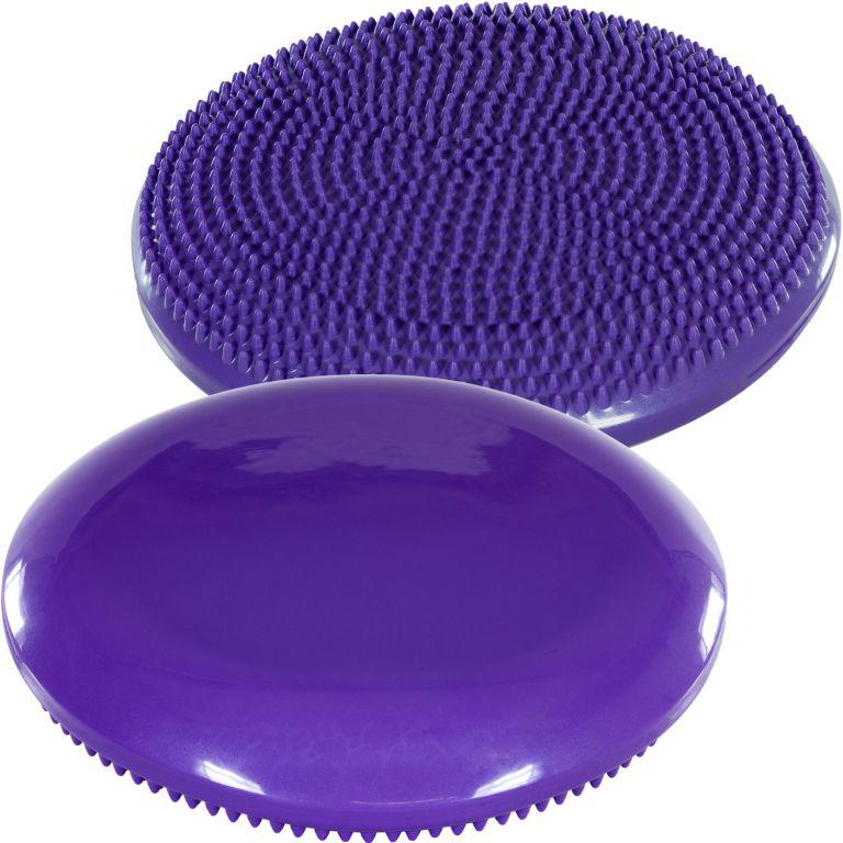 Balančný vankúš na sedenie MOVIT 33 cm, fialový
