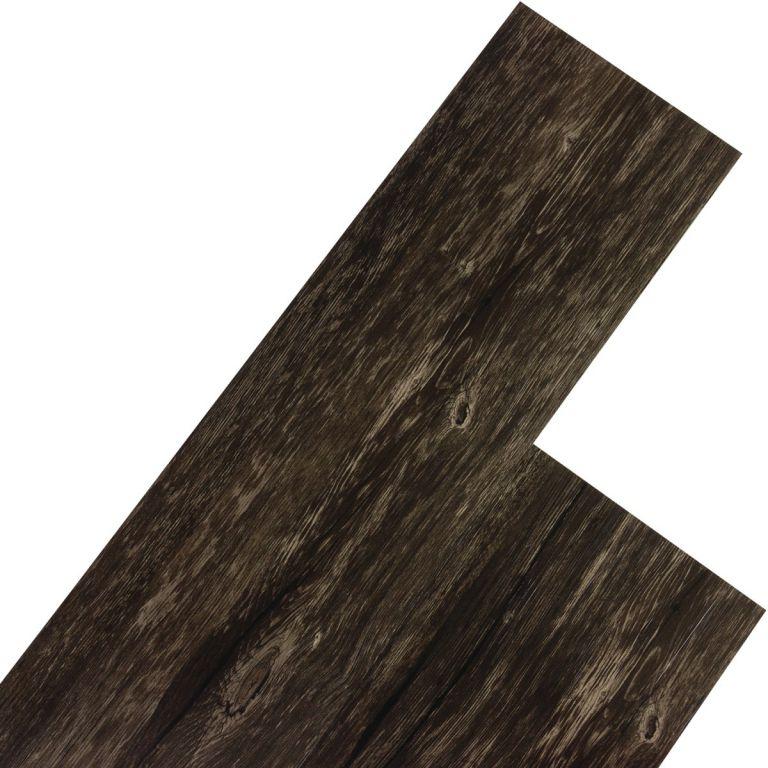 Vinylová podlaha STILISTA 5,07 m2 - rustikálny tmavý dub