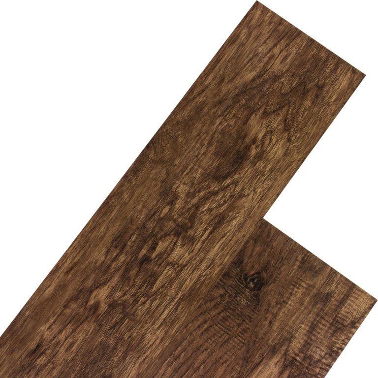 Vinylová plovoucí podlaha STILISTA 5,07m², ořešák tmavý