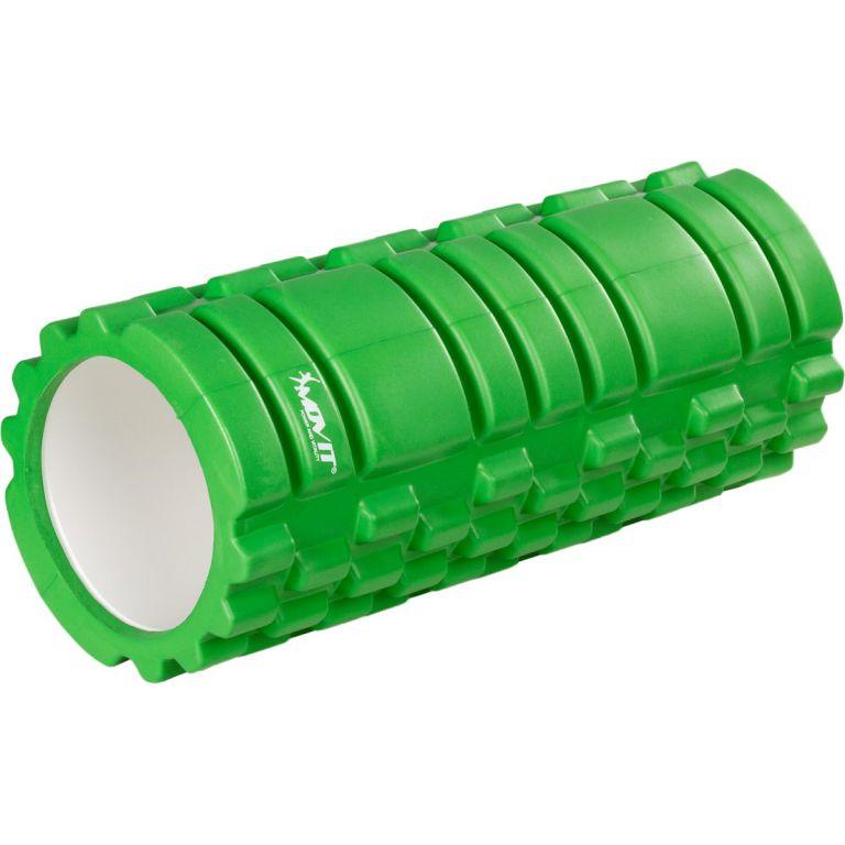 Posilňovací masážny valec - FITNESS ROLLER MOVIT zelená