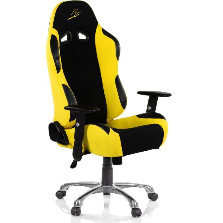 RACEMASTER RS Series 47007 Kancelárska stolička  - čierna/žltá