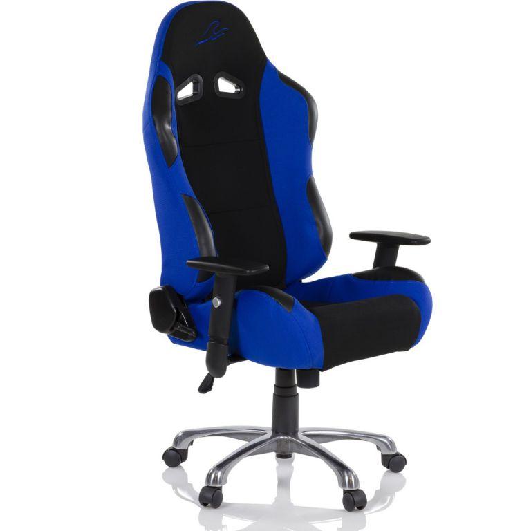 RACEMASTER RS Series 47008 Kancelárska stolička - čierna/modrá
