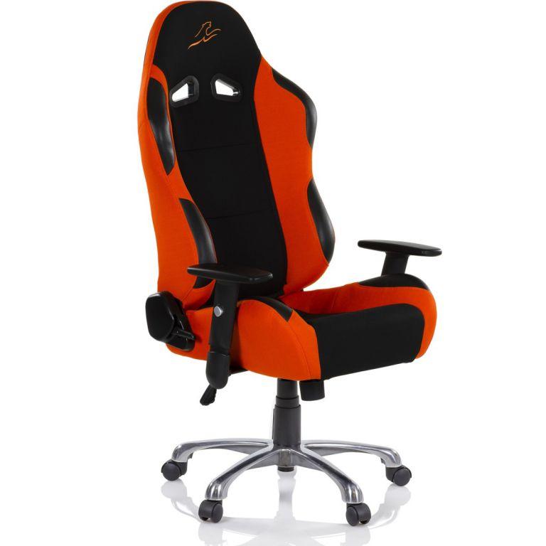 RACEMASTER RS Series 47009 Kancelárska stolička  - čierna/oranžová