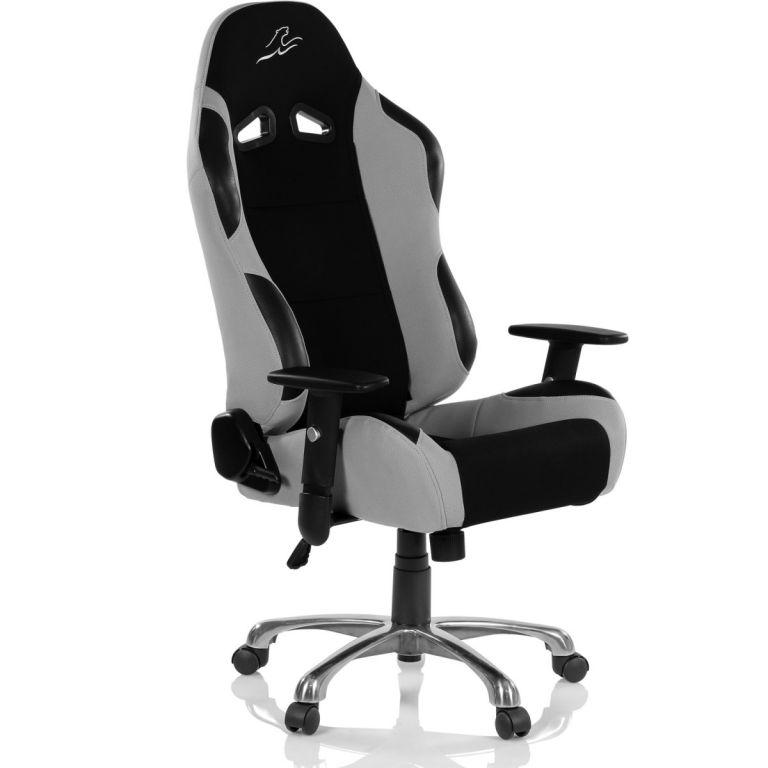 RACEMASTER RS Series 47010 Kancelárska stolička- čierna/sivá