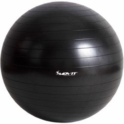 Gymnastická lopta MOVIT - čierna – 65 cm