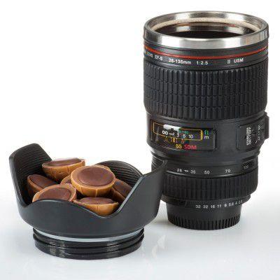Termoska objektiv fotoaparátu