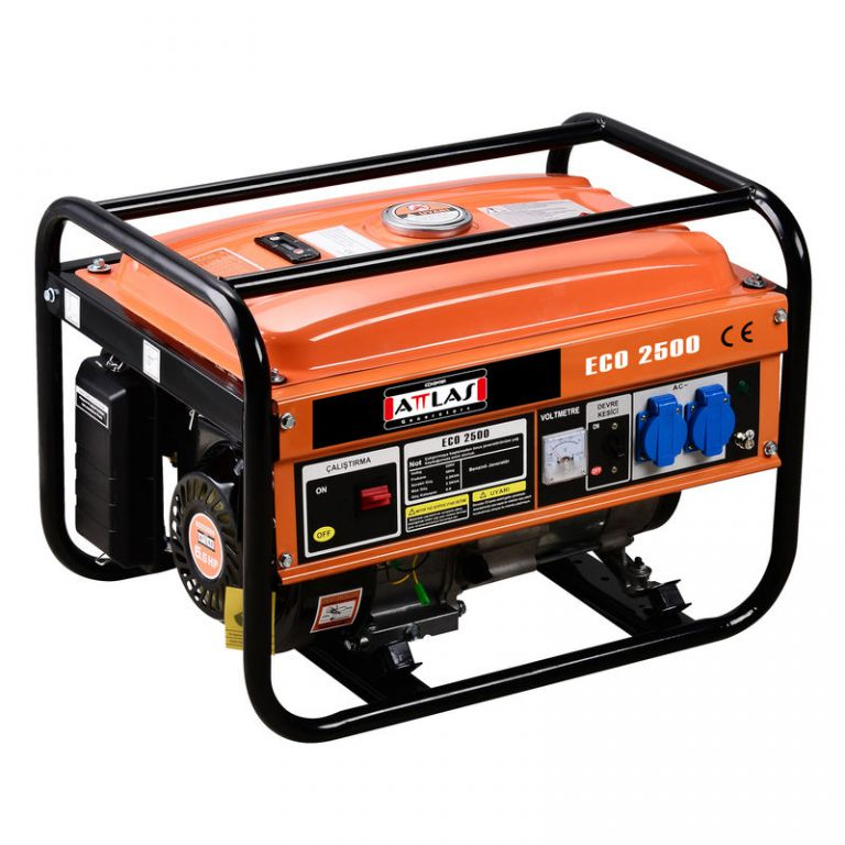 Fotografie Benzínový generátor - SH 2580-PT