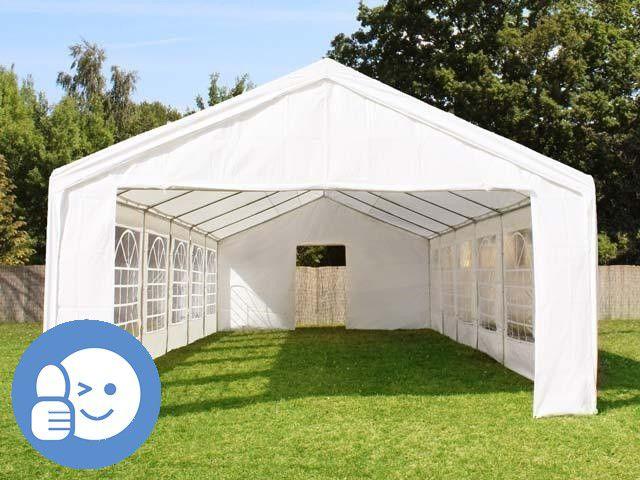 Tradgard 41521 Záhradný párty stan CLASSIC 4 x 10 m - biela