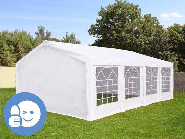 Tradgard 41527 Záhradný párty stan CLASSIC 5 x 8 m - biela